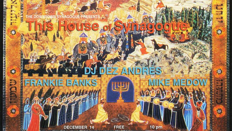 Non-Drinking at This House of Synagogue