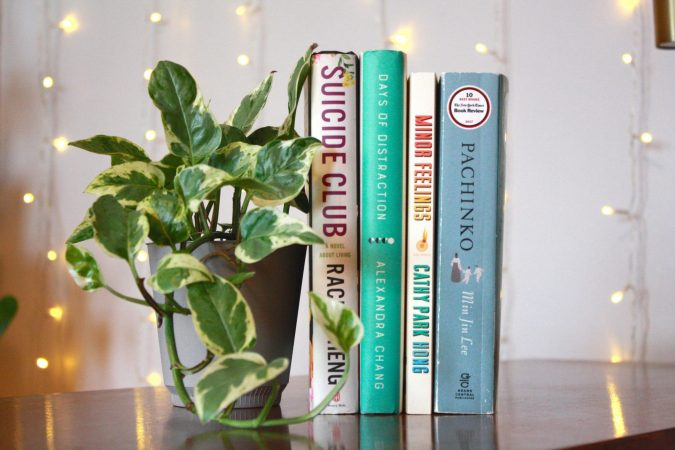 BOOKS BY ASIAN AUTHORS / PHOTO EMILY FISHER