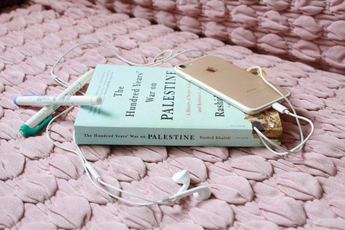 THE HUNDRED YEARS' WAR ON PALESTINE BY RASHID KHALIDI. PHOTO BY EMILY FISHER