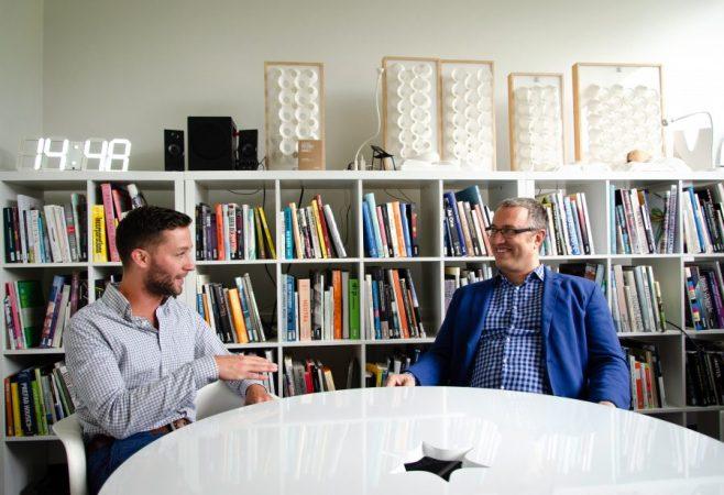 CHRIS STEFANI SPEAKS WITH KARL DAUBMAN