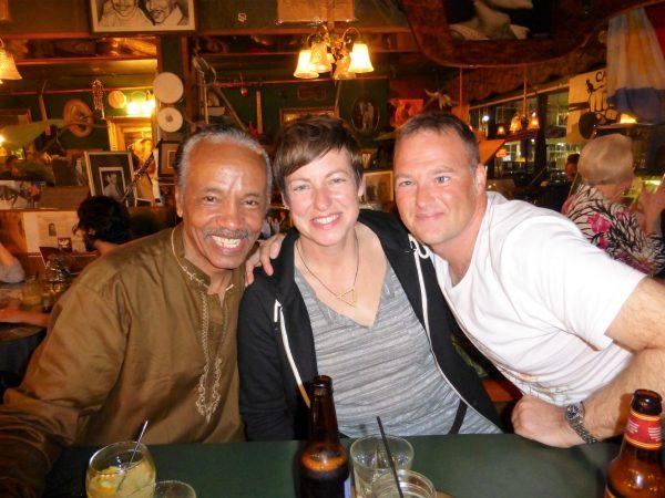 LARRY MONGO, FIONA CALLAM, AND JASON, REGULARS FROM SCOTLAND
