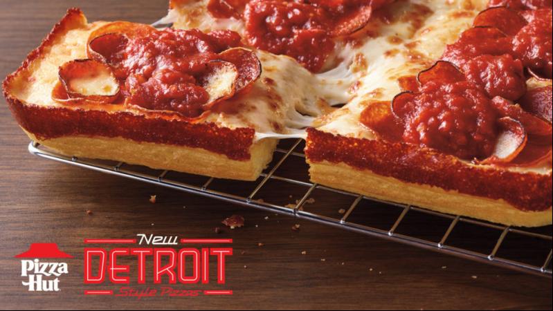 Detroit-style pizza