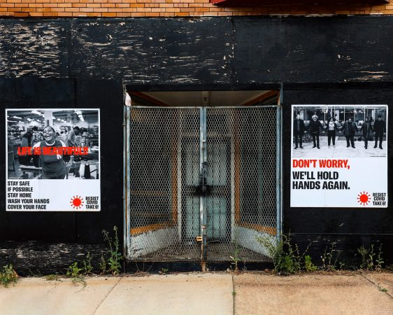 RESIST COVID|TAKE SIX; CAMPAIGN BY CARRIE MAE WEEMS