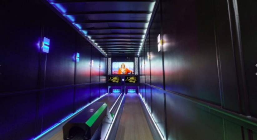 LUCKY STRIKE BOWLING, WORLD'S FIRST MOBILE BOWLING ALLEY