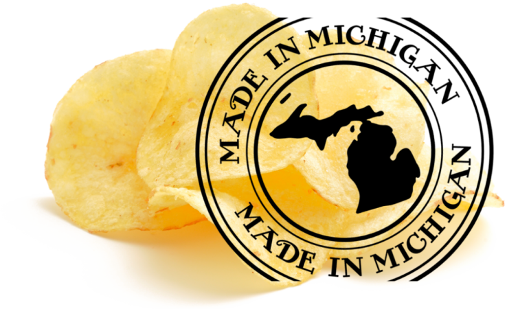 DOWNEY'S POTATO CHIPS / MICHIGAN MADE