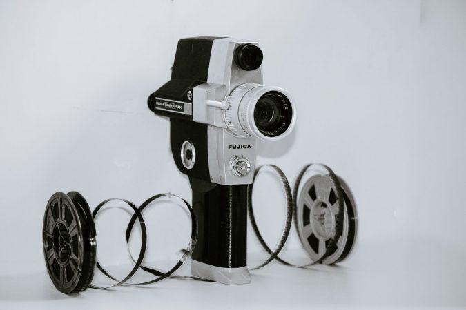Film amateur avec une Black